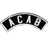 ACAB Motorcycleclub MC Rankpatch Tab Biker Motorradfahrer Aufnäher Patch Sticker
