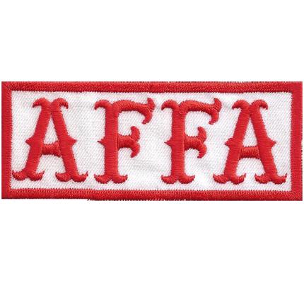 AFFA All Free Free All, Hells Biker Kutte no Angels Rocker Motorrad Aufnäher