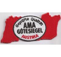 AMA geprüfter Qualität Gütesiegel AUSTRIA Biker Rocker Heavy Metal Aufnäher Patch