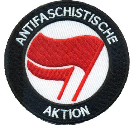 Antifaschistische Aktion Antifa Ultras Hooligan Biker Punk Patch Aufnäher
