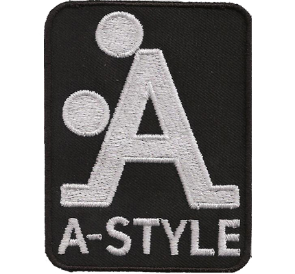 A Style A doggy style zeichen Geiler Rocker, Biker Rockerbilly Aufnäher Patch
