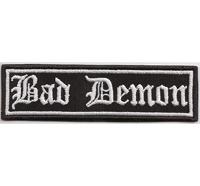 BAD DEMON, Supernatural, Motorcycle Club Rangabzeichen Biker Aufnäher Patch Abzeichen
