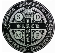 BLS Black Label Society SDMF Biker MC Motorbike Backpatch Aufnäher Patch