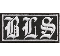 BLS Black Label Society Biker Motorcycle Rocker MC Patch Aufnäher Abzeichen