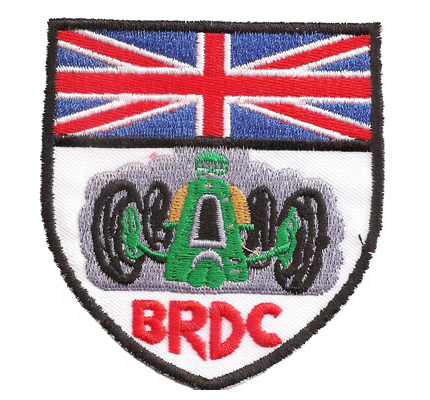 BRDC 1 Half Litre British Racing Drivers Club Historic Sportcar Patch Aufnäher