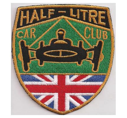 BRDC 2 Half Litre British Racing Drivers Club Historic Sportcar Patch Aufnäher