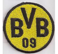 BVB09 Borussia Dortmund Wappen Logo Fussball Trikot Abzeichen Aufnäher