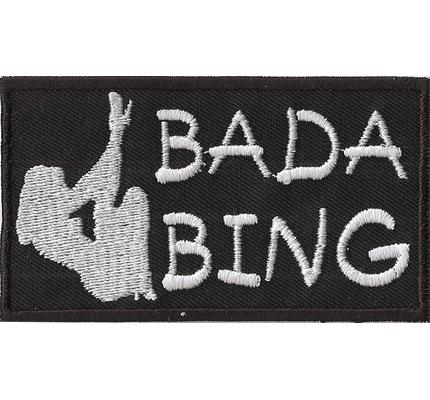 BADA BING, Biker Girl Ol`Lady Sexy Chick Babe, Love Girls Rocker Patch Aufnäher