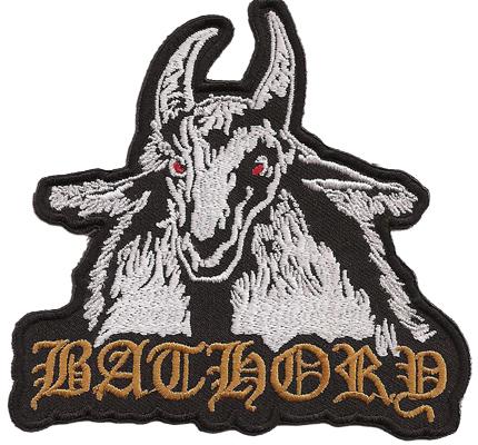BATHORY Blood fire Death Black Viking Heavy Metal Sodom Patch Aufnäher Abzeichen