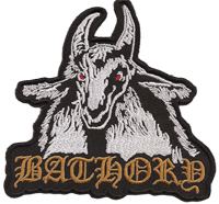 BATHORY Blood fire Death Black Viking Heavy Metal Sodom Patch Aufnäher Abzeichen