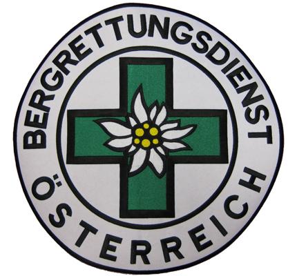 BERGRETTUNGSDIENST /Österreich Backpatch Bergf/ührer Edelweiss /ÖAV Aufn/äher Patch