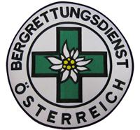 BERGRETTUNGSDIENST Österreich Backpatch Bergführer Edelweiss ÖAV Aufnäher Patch
