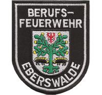 Berufsfeuerwehr Eberswalde Feuerwehr wappen Abzeichen Aufnäher Patch
