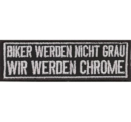 Aufnaher motorradjacke