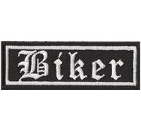 BIKER Alt Deutsch Rankpatch Tab Motorcycle Motorrad Jacken Patch Aufnäher