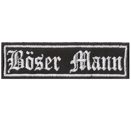 Biker Rocker Kutte Spruch Aufn/äher Patch Go Fuck your Self Simon Says