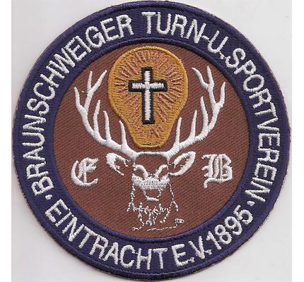 Braunschweiger Turn & Sportverein Eintracht EV 1895 Abzeichen Aufnäher Patch