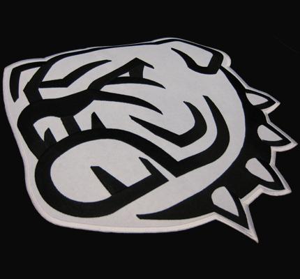 BULLDOG Backpatch XXL French English Bulldog Bull dog Bulldogge Club Aufnäher