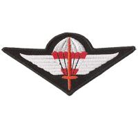 Bundesheer Jagdkommando BH JaKdo Airborne Parachute Abzeichen Aufnäher Patch