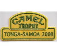 CAMEL Trophy tonga samoa 2000 dakar racing Aufnäher Patch Abzeichen