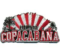 COP ACAB Ana FCB Bayern FCK Ultras Hooligans Fanclub Copacabana Patch Aufnäher