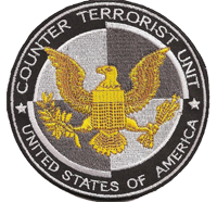 CTU Counter Terrorist Unit 24 US Army Counterstrike SWAT Aufnäher Patch