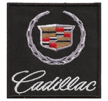 Cadillac US Car XLR Escalade Eldorado Logo Sitzbezug Teppich Aufnäher Patch