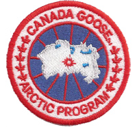 Canada Goose Arctic program Cap-Patch Winterjacke Haube Schal Aufnäher Patch