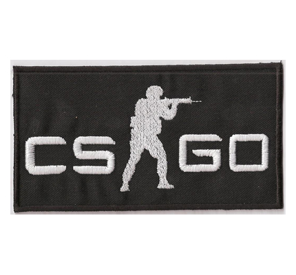 Counterstrike CSGO Go global offensive CTU Counter Terrorist Unit Aufnäher