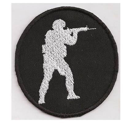 Counterstrike SNIPER Go global offensive CTU Counter Terrorist Unit Aufnäher