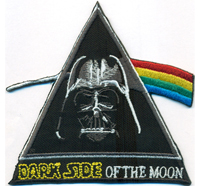 DARKSIDE of The Moon Darth Vader Star Wars Uniform Kostüm Patch Aufnäher Abzeichen