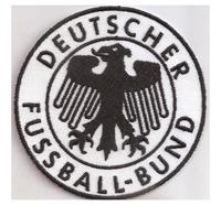 DFB 2 deutscher Fussball Bund FIFA WM, Trikot  Ball Aufnäher Abzeichen
