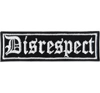 DISRESPECT Anarchy Bootboys Biker Motorcycle Rockabilly Aufnäher Aufbügler Abzeichen