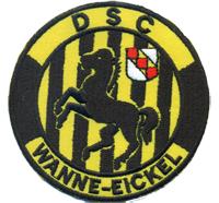 DSC Wanne Eickel Fanclub Sportverein Trikot Fahne Patch Aufnäher Abzeichen
