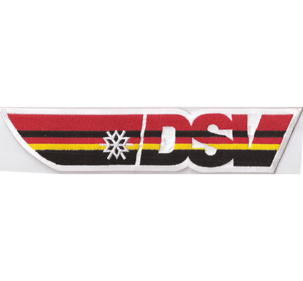 DSV Backpatch Deutscher Schiverband Germany Skiteam Winterjacke Aufnäher Patch
