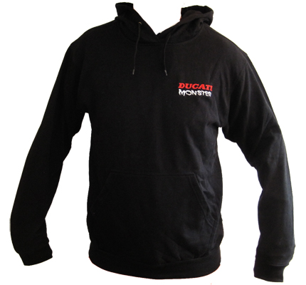 DUCATI MONSTER Biker Racing Hoody Kapuzensweater Kapuzenpulli Sweater XL