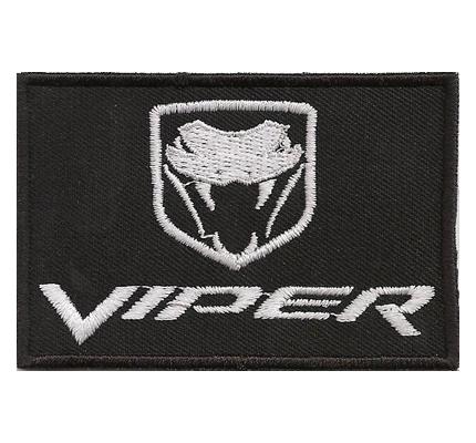 Dodge Viper US Muscle Car Logo T-shirt Sportsitz Tuning Aufnäher Patch