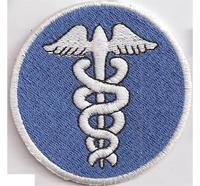 Emergency Aesculap Rettung DRK Medical Paramedic Ärmelabzeichen Aufnäher Patch