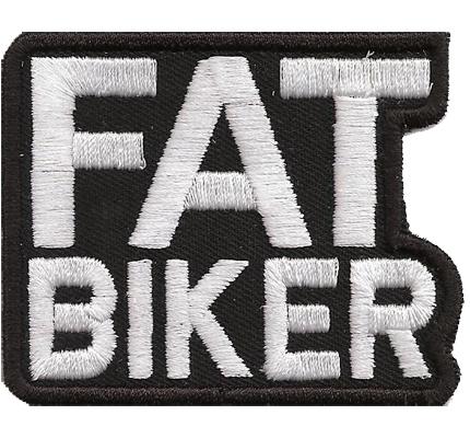 The FAT Biker Rocker Vintage Bastard Kutte Free Biker Aufnäher Patch Spruch