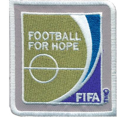 FIFA Football for Hope Fussball Trikot Schiedsrichter Patch Aufnäher Abzeichen