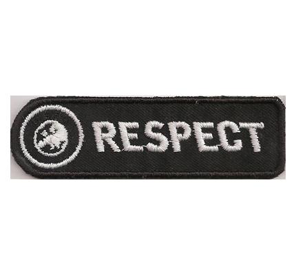 FIFA Respect Fifa Football Fussball WM EM Ärmelabzeichen Patch Aufnäher