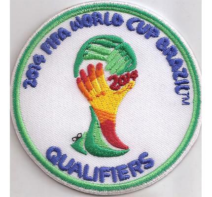 FIFA 2014 World Champion Qualifiers Fussball Trikot Aufnäher Aufbügler Patch