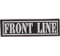 FRONT LINE, Motorcycle Club Rangabzeichen Biker Aufnäher Patch Abzeichen