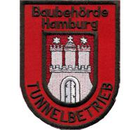 Feuerwehr Baubehörde Hamburg Tunnelbetrieb Polizei Patch Aufnäher Abzeichen