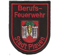 Feuerwehr Berufsfeuerwehr Abzeichen Stadt Plauen Aufnäher Patch