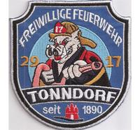 Freiwillige Feuerwehr Hamburg Tonndorf 29 17 Feuer Schwein Abzeichen Aufnäher