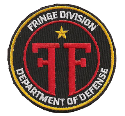 Fringe Division FBI FF Department of defense Season DVD patch Aufnäher