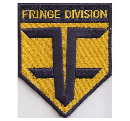 Fringe Division Shoulder Patch Schulter Abzeichen Season DVD Aufnäher