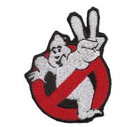 Ghostbusters Noghost Geisterjäger Uniform Kostüm Overall Aufnäher Abzeichen