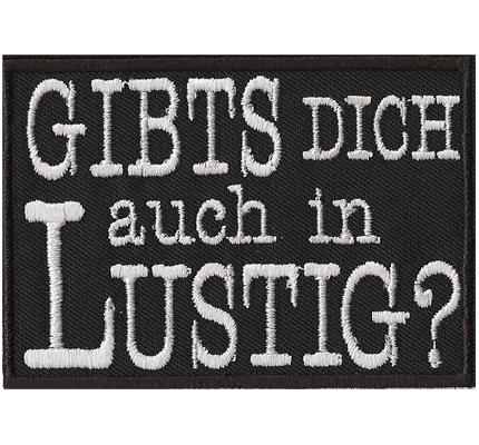 Anti Bundeswehr Biker Rocker Heavy Metal Spruch Aufn/äher Patch Sir FUCK YOU Sir